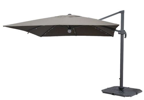 Garden Hanging Umbrella with LED light